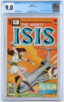 "1976 ""Isis"" Issue #1 D.C. Comic Book (CGC 9.0) at PristineAuction.com"