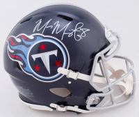 Marcus Mariota Signed Titans Full-Size Authentic On-Field Speed Helmet (Radtke COA & Mariota Hologram) at PristineAuction.com
