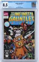 "1991 ""Infinity Gauntlet"" Issue #1 Marvel Comic Book (CGC 8.5) at PristineAuction.com"