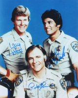 "Erik Estrada, Robert Pine & Larry Wilcox Signed ""CHiPS"" 11x14 Photo (JSA COA) at PristineAuction.com"