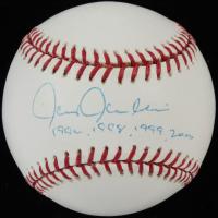 "Chris Chambliss Signed 2000 World Series Baseball Inscribed ""1996, 1998, 1999, 2000"" (PSA COA) at PristineAuction.com"