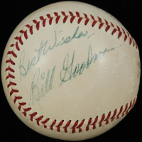 """Billy Goodman Signed OAL Baseball Inscribed """"Best Wishes"""" (PSA COA) at PristineAuction.com"""