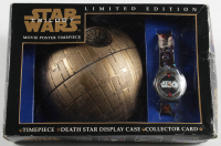 Vintage LE 1998 Star Wars Watch with Death Star Case at PristineAuction.com