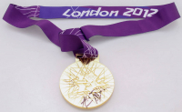 Usain Bolt Signed 2012 London Olympic Games Gold Medal (Beckett COA) at PristineAuction.com
