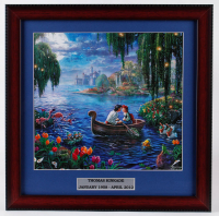 "Thomas Kinkade ""The Little Mermaid"" 16x16 Custom Framed Print Display at PristineAuction.com"
