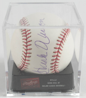 Hank Aaron Signed OML Baseball With Display Case (JSA LOA) at PristineAuction.com