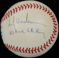 "Rickey Henderson Signed OAL Baseball Inscribed ""All Time S.B. King"" (PSA COA) at PristineAuction.com"