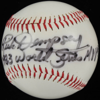 "Rick Dempsey Signed OL Baseball Inscribed ""1983 World Series MVP"" (PSA COA) at PristineAuction.com"