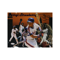 Darryl Strawberry Signed Mets 8x10 Photo (Steiner Hologram) at PristineAuction.com