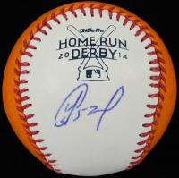 Yoenis Cespedes Signed 2014 Home Run Derby OML Baseball (PSA COA & MLB Hologram) at PristineAuction.com