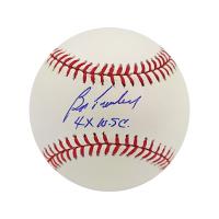 "Bob Turley Signed OML Baseball Inscribed ""4x W.S.C."" (Steiner Hologram) at PristineAuction.com"