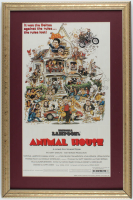 """Animal House"" 16x24 Custom Framed Movie Poster Display at PristineAuction.com"