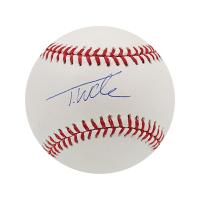Tyler Wade Signed OML Baseball (Steiner Hologram) at PristineAuction.com