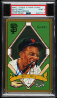 Willie Mays Signed LE Hall of Fame Perez-Steele Galleries Postcard (PSA Encapsulated) at PristineAuction.com