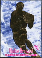 Kobe Bryant 1996-97 Skybox E-X 2000 Blue 23KT Gold Card at PristineAuction.com