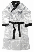 Floyd Mayweather Jr. Signed Everlast Boxing Robe (Schwartz Sports COA) at PristineAuction.com