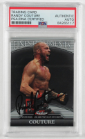 Randy Couture Signed 2011 Finest UFC Finest Moments #FMRC (PSA Encapsulated) at PristineAuction.com