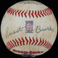 Ernest Burke Signed Baseball (PSA COA) at PristineAuction.com