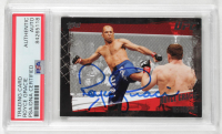 Royce Gracie Signed 2010 Topps UFC #1 (PSA Encapsulated) at PristineAuction.com
