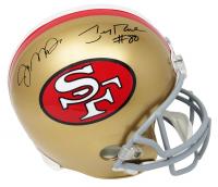 Joe Montana & Jerry Rice Signed 49ers Full-Size Helmet (Schwartz Sports COA) at PristineAuction.com