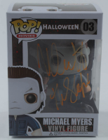 "Nick Castle Signed ""Halloween"" #03 Michael Myers Funko Pop! Vinyl Figure Inscribed ""The Shape"" (Beckett Hologram) at PristineAuction.com"