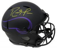 Randy Moss Signed Vikings Full-Size Eclipse Alternate Speed Helmet (Schwartz COA) at PristineAuction.com