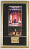 "Disneyland's ""Great Moments With Mr. Lincoln"" 11.5x19 Custom Matted Display at PristineAuction.com"
