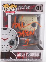"Ari Lehman Signed ""Friday the 13th"" #01 Jason Voorhees Funko Pop! Vinyl Figure Inscribed ""Jason 1"" (JSA Hologram) at PristineAuction.com"