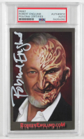 "Robert Englund Signed ""A Nightmare on Elm Street"" Print (PSA Encapsulated) at PristineAuction.com"
