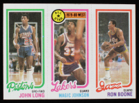 1980-81 Topps #66 #178 Maurice Cheeks / #18 Magic Johnson All-Star RC / #237 Ron Boone at PristineAuction.com