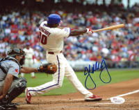 John Mayberry Jr. Signed Phillies 8x10 Photo (JSA COA) at PristineAuction.com