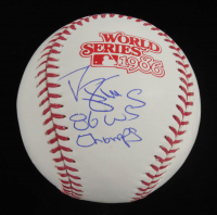 "Darryl Strawberry Signed 1986 World Series Baseball Inscribed ""86 WS Champs"" (Schwartz COA) at PristineAuction.com"
