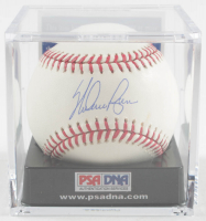 Nolan Ryan Signed 2009 World Series Baseball with Display Case (PSA COA - Graded 9.5) at PristineAuction.com