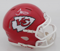 Tyreek Hill Signed Chiefs Speed Mini Helmet (Beckett COA) at PristineAuction.com