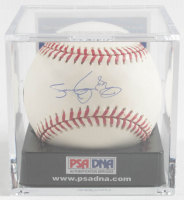 Roger Clemens Signed OML Baseball with Display Case (PSA COA - Graded 9.5 & MLB Hologram) at PristineAuction.com