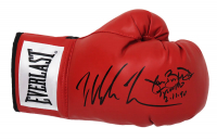 "Mike Tyson & James ""Buster"" Douglas Signed Everlast Boxing Glove Inscribed ""KO Tyson 2.11.90"" (Schwartz COA) at PristineAuction.com"