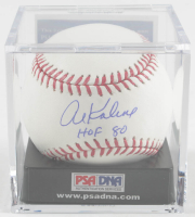 "Al Kaline Signed OML Baseball with Display Case Inscribed ""HOF 80"" (PSA COA - Graded 10) at PristineAuction.com"