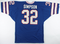"O. J. Simpson Signed LE Jersey Inscribed ""2,003 YDs"" & ""12-16-73"" (JSA COA) at PristineAuction.com"