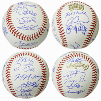 2016 Cubs World Series Series Baseball Team-Signed by (22) with Ben Zobrist, Theo Epstein, Javier Baez, Kyle Hendricks, Addison Russell (Schwartz Sports COA) at PristineAuction.com