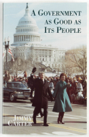 """Jimmy Carter Signed """"A Government As Good As It's People"""" Softcover Book (PSA Hologram) at PristineAuction.com"""