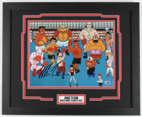 """Mike Tyson Signed """"Punch-Out!!"""" 18x22 Custom Framed Print Display (Fiterman Sports Hologram) at PristineAuction.com"""