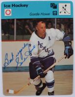 "Gordie Howe Signed 1977-79 Sportscaster Series 2 #206 Inscribed ""Best Regards"" (JSA COA) at PristineAuction.com"
