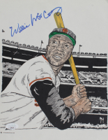 Willie McCovey Signed Giants 8.5x11 Print (JSA COA) at PristineAuction.com