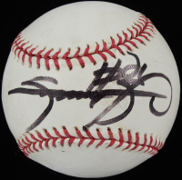 Sammy Sosa Signed OML Baseball (PSA COA) at PristineAuction.com