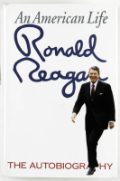 "Ronald Reagan Signed ""An American Life"" Hardcover Book (PSA COA) at PristineAuction.com"