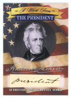 2020 A Word from The President of the United States Factory Sealed Case (10 Boxes) at PristineAuction.com