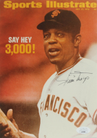 Willie Mays Signed Giants 7x9.5 Photo (JSA COA) at PristineAuction.com