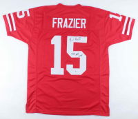 "Tommie Frazier Signed Jersey Inscribed ""94/95 Nat'l Champs"" (Beckett COA) at PristineAuction.com"