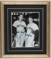Joe DiMaggio & Ted Williams Signed 14x16 Custom Framed Photo Display (JSA LOA) at PristineAuction.com