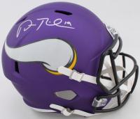Adam Thielen Signed Vikings Full-Size Speed Helmet (Beckett COA) at PristineAuction.com